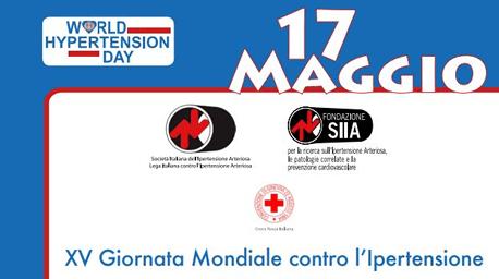 XV Giornata Mondiale contro l'Ipertensione Arteriosa