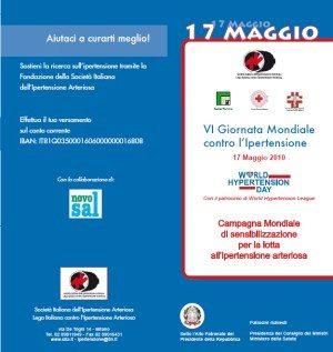 VI Giornata Mondiale contro l'Ipertensione