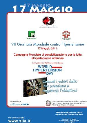 VII Giornata Mondiale contro l'Ipertensione Arteriosa