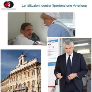VI Giornata Mondiale contro l'Ipertensione Arteriosa: le Istituzioni contro l'ipertensione arteriosa