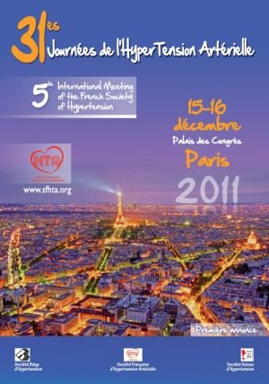 Les 31èmes Journées de l'Hypertension Artérielle – 5th International Meeting of the French Society of Hypertension
