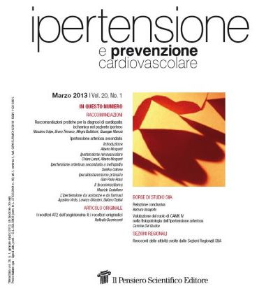 Raccomandazioni pratiche sull'ipertensione arteriosa resistente
