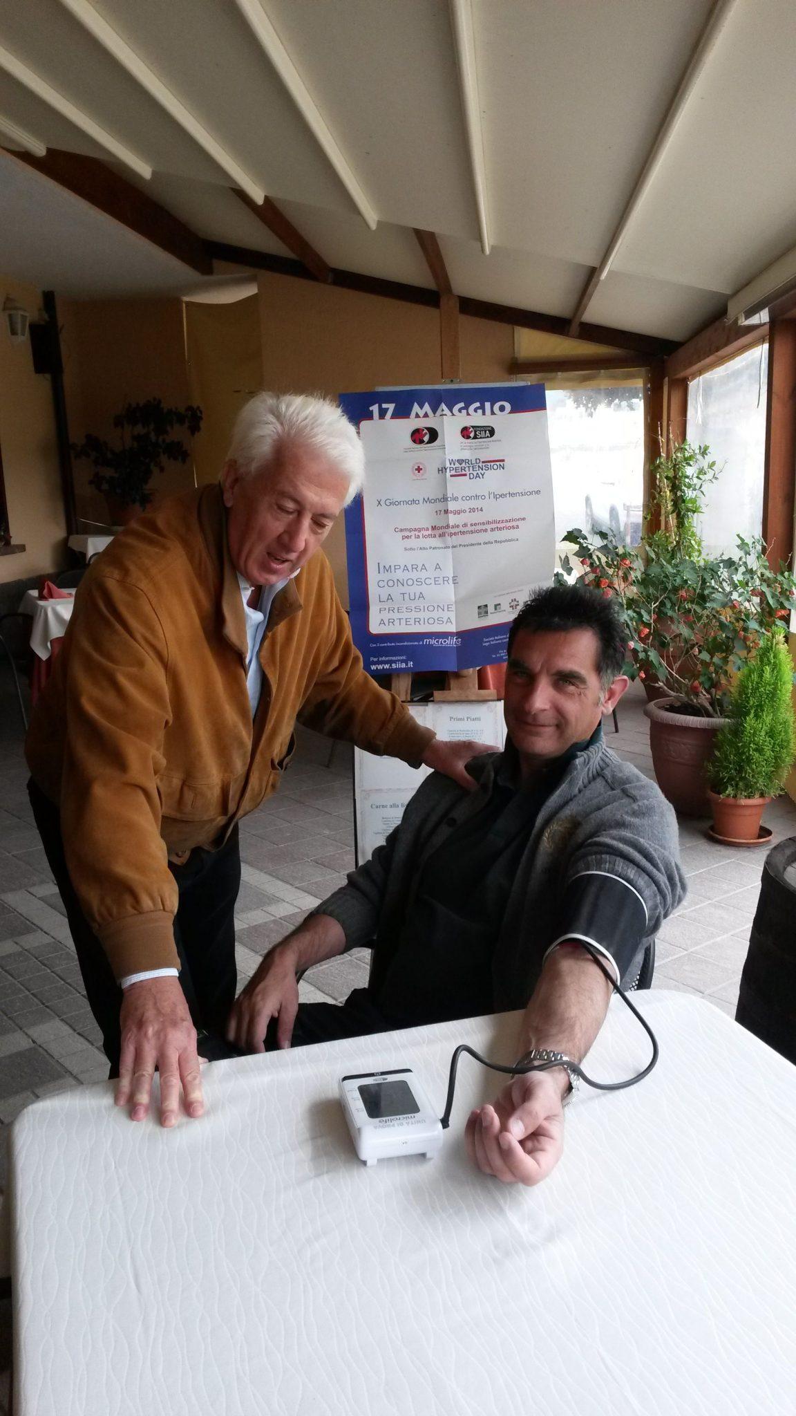Fotografie della X Giornata Mondiale Contro l'Ipertensione Arteriosa