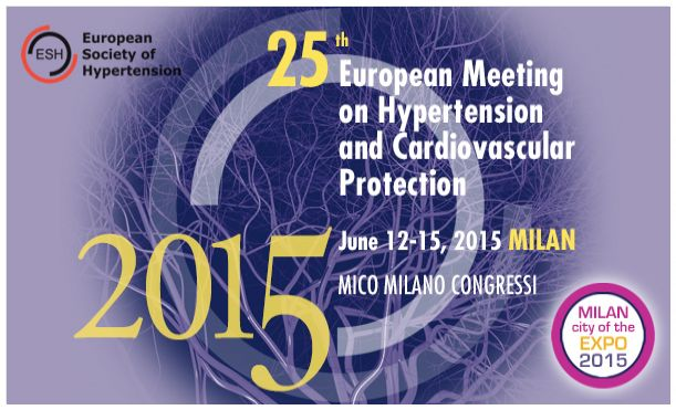 ESH 2015- 25th European Meeting on Hypertension and Cardiovascular Protection