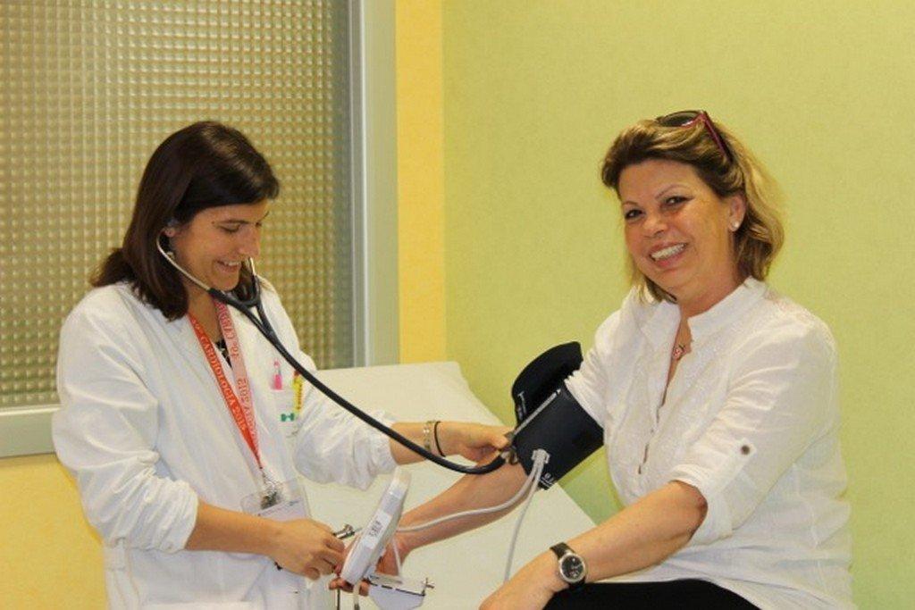 Fotografie della XII Giornata Mondiale Contro l'Ipertensione Arteriosa