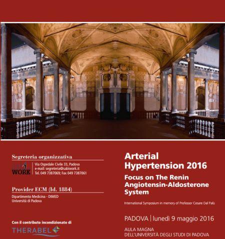 Arterial Hypertension 2016 Focus on The Renin Angiotensin-Aldosterone System
