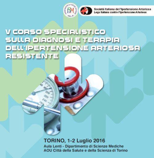 V Corso specialistico sulla diagnosi e terapia dell'ipertensione arteriosa resistente