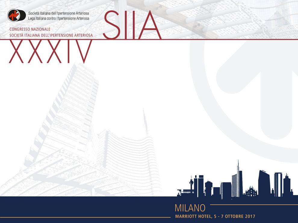 XXXIV Congresso Nazionale SIIA 2017