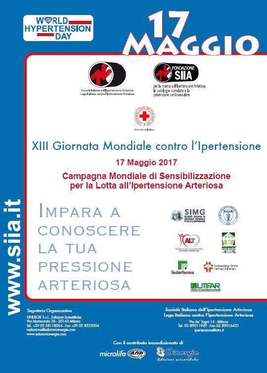 XIII Giornata Mondiale contro l'Ipertensione Arteriosa