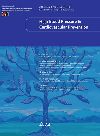 High Blood Pressure and Cardiovascular Prevention