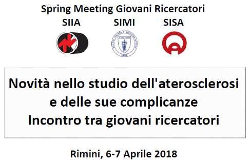 Spring Meeting Giovani Ricercatori SIIA/SIMI/SISA: nuova deadline invio abstract