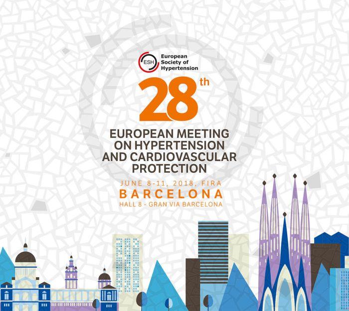 ESH 2018 –  Barcellona 8-11 giugno 2018