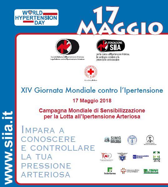 XIV Giornata Mondiale contro l'Ipertensione Arteriosa