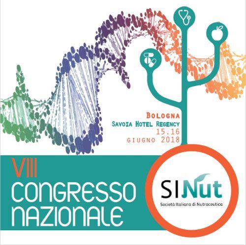 Congresso nazionale SINut, Bologna 15-16 giugno 2018