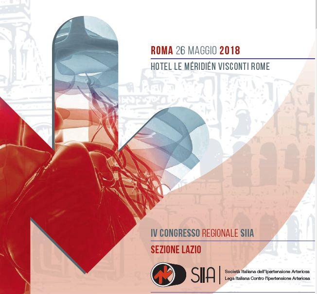 IV Congresso Regionale SIIA – Sezione Lazio