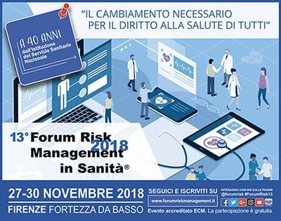 Forum Risk Management in Sanità 2018