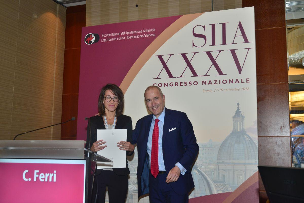 """Borsa di Studio SIIA-FEDERFARMA 2018 """"Alberto Zanchetti"""""""
