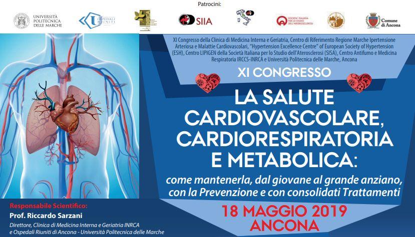 La Salute Cardiovascolare, Cardiorespiratoria e Metabolica: come mantenerla, dal giovane al grande anziano, con la Prevenzione e con consolidati Trattamenti