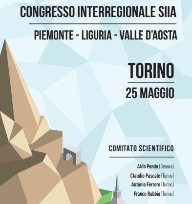 Congresso Interregionale SIIA – Piemonte/Liguria/Valle D'Aosta