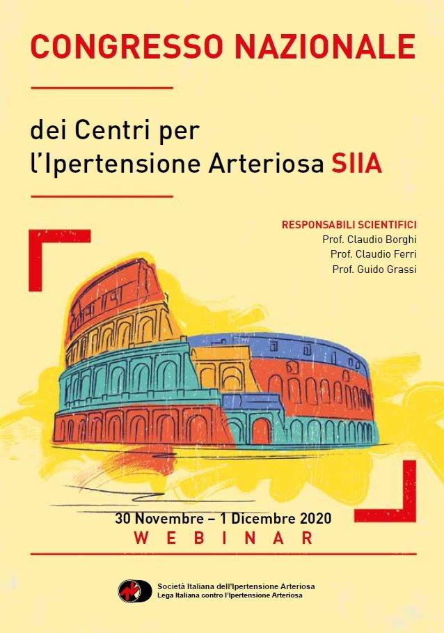 Congresso Nazionale dei Centri per l'Ipertensione Arteriosa SIIA