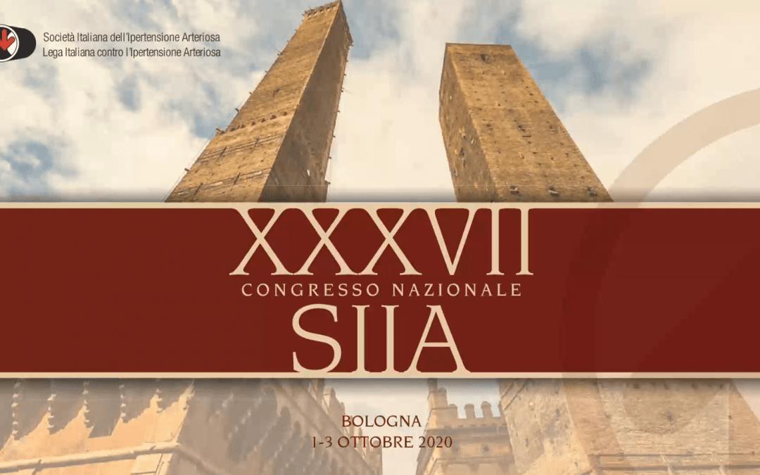 XXXVII Congresso Nazionale SIIA 2020 – Digital Edition