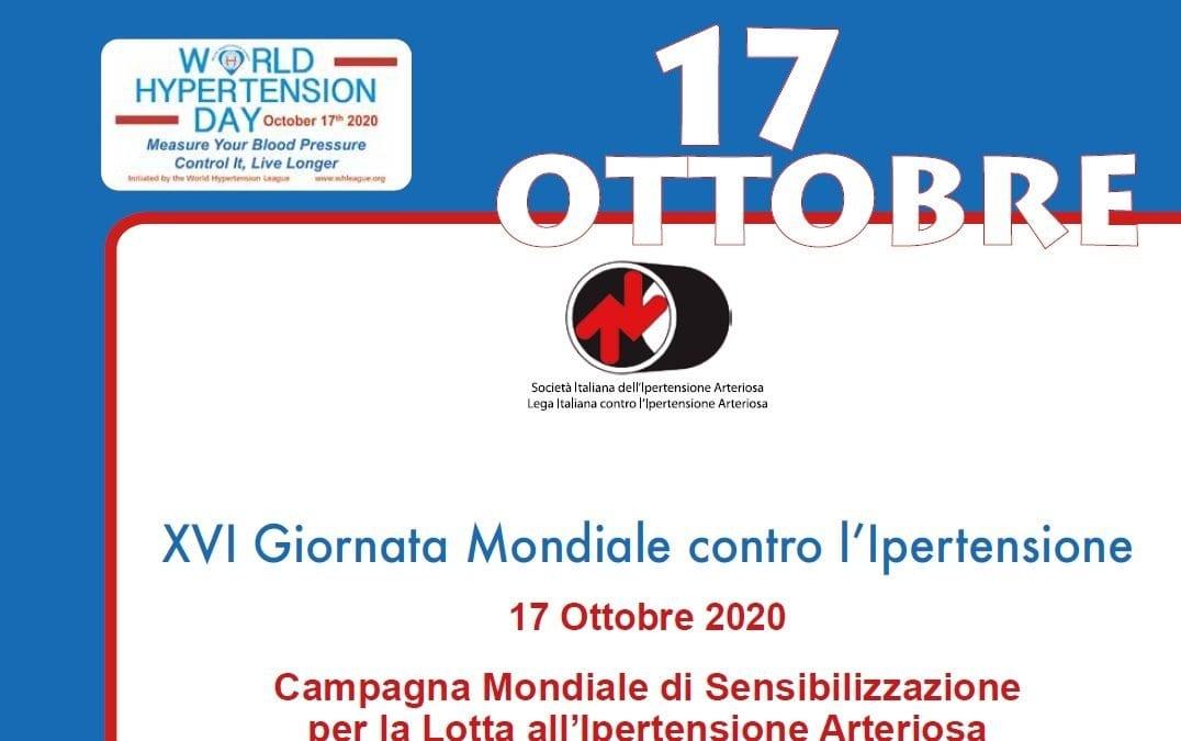 XVI Giornata Mondiale contro l'Ipertensione
