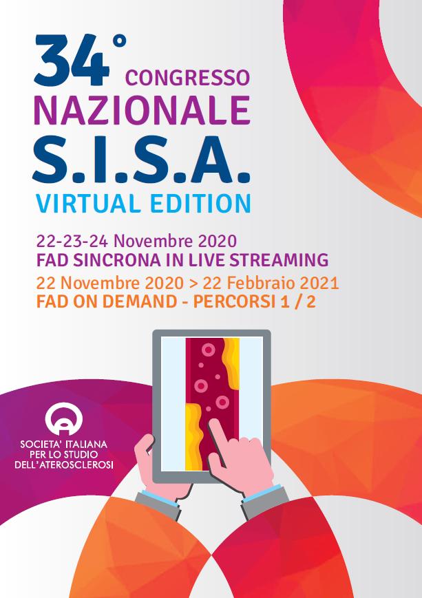 34° Congresso Nazionale SISA – Virtual Edition