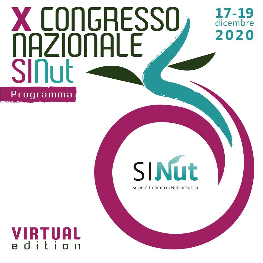 X Congresso Nazionale SINut – Virtual edition
