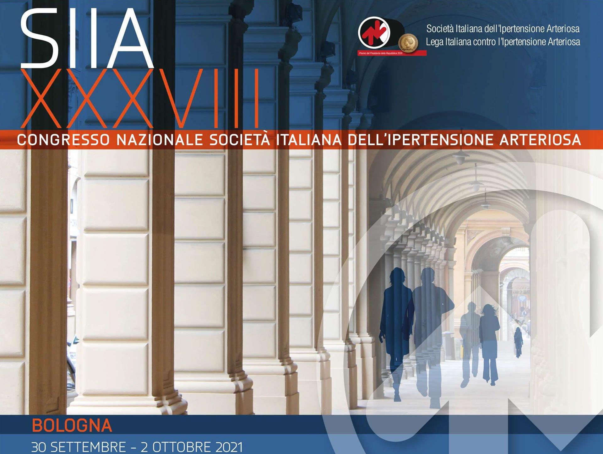 XXXVIII Congresso Nazionale SIIA 2021 – Edizione virtuale