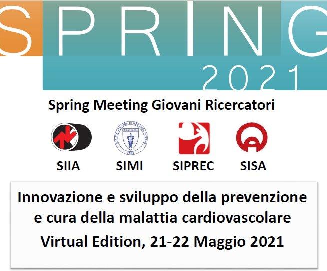Spring Meeting Giovani Ricercatori SIIA-SIMI-SIPREC-SISA – Virtual Edition