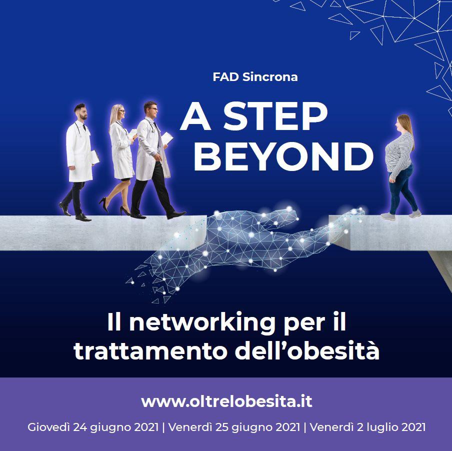 A step beyond – Il networking per il trattamento dell'obesità (FAD sincrona)